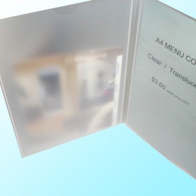 A4 Bi-Folder Durable Poly (4 Faces) CLEARANCE $1.95