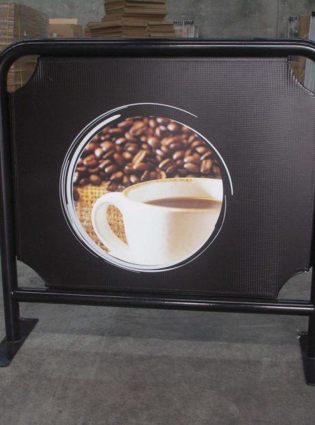 1M cafe barrier